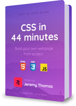 CSS in 44 minutes ebook
